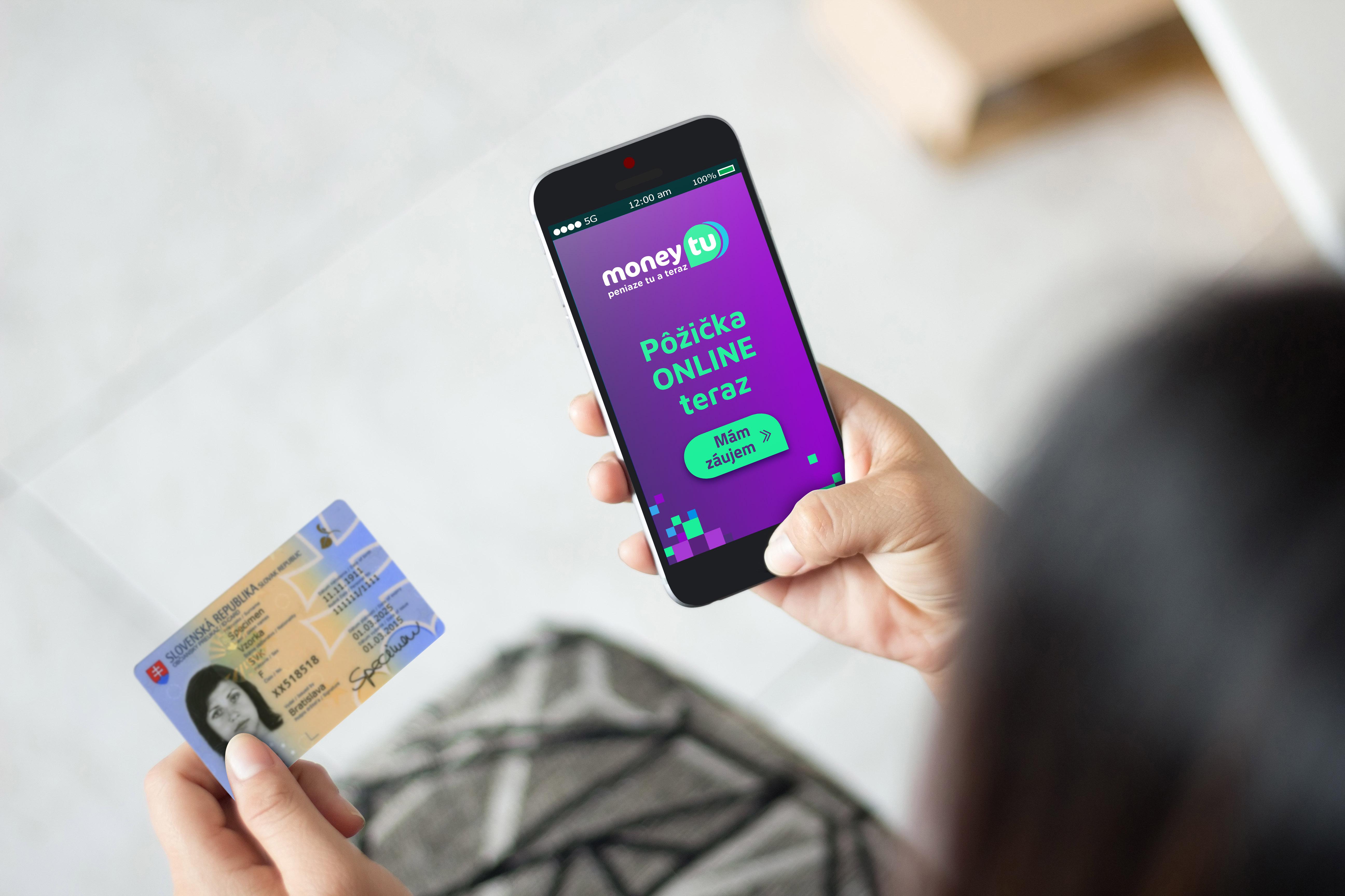 Na vybavenie online pôžičky Vám stačí už len jeden doklad totožnosti.