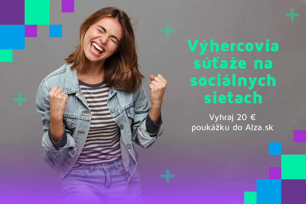 """Výhercovia októbrovej súťaže na sociálnych sietach """"Vyhraj 20 € poukážku"""""""
